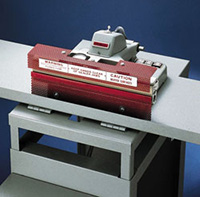 Deluxe Bench Mountable Heat Sealer for Poly, Cellophane or Barrier material
