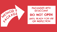 Desiccant Labels