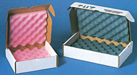 Foam Lined Corrugated Mailers