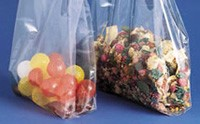 "4 x 2 x 8"" 2 MIL Clear Gusseted Poly Bags (ZPB4282)"