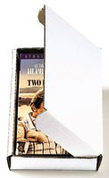 "8 x 5 1/2 x 2 3/4"" Corrugated Cardboard Video Mailer (ZVHS6)"