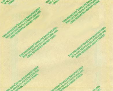 "Environmentally Friendly Recycled Packing List Envelope - Clear Packing List Envelopes - 4 1/2"" x 5 1/2"" (ZPQGREEN11)"