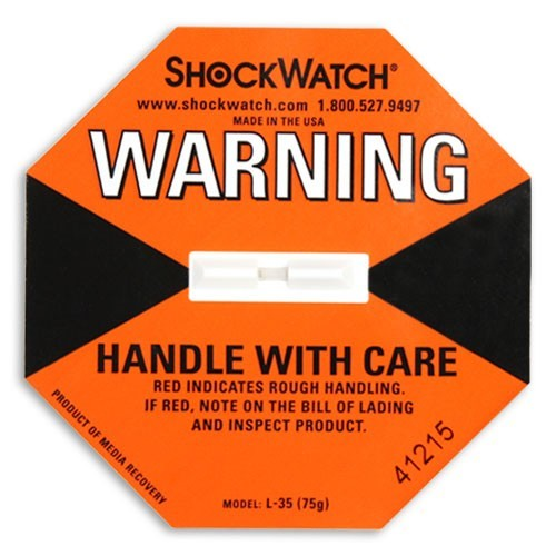 Shock Watch Package Handling Warning Label (ZL35)